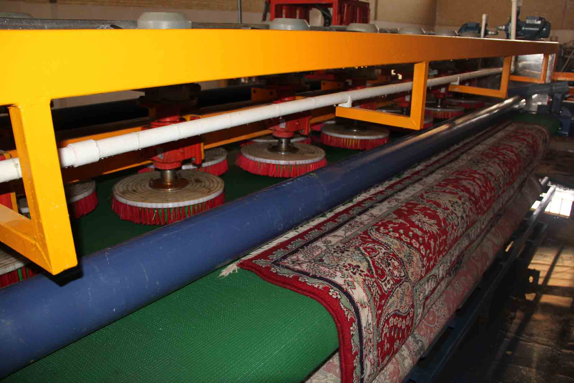 دستگاه شستشوی فرش/دنیای فرش/فرش ماشینی/فرش ایرانی/شستشوی فرش