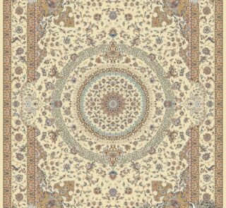 آبنوس کرم/دنیای فرش/فرش ایرانی/فرش ماشینی/donyayfarsh