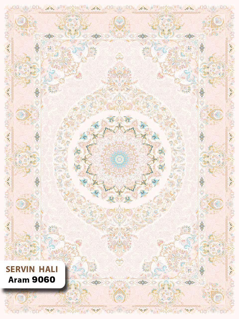 آرام 9060/دنیای فرش/فرش ایرانی/فرش ماشینی/donyayfarsh
