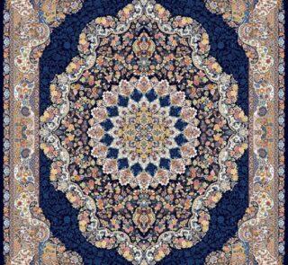 آوازه سرمه ای/دنیای فرش/فرش ایرانی/فرش ماشینی/donyayfarsh