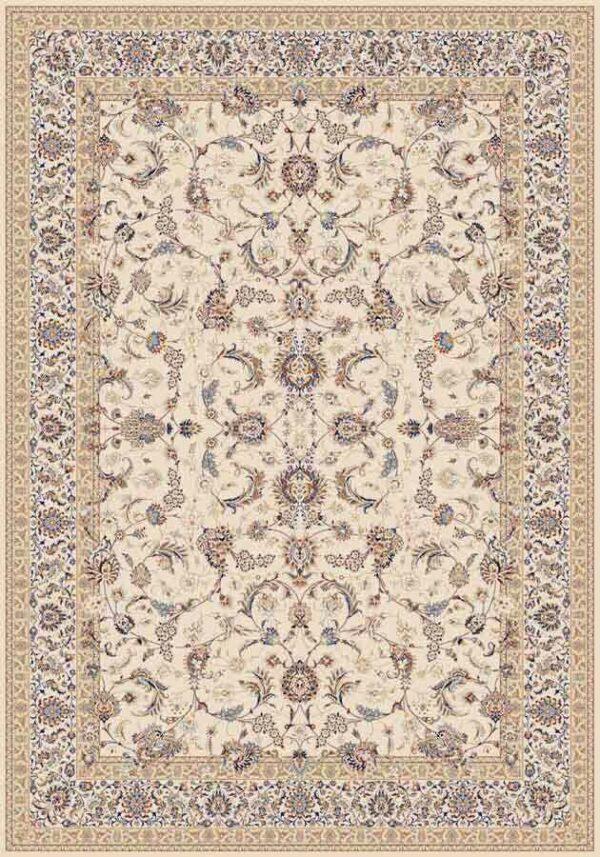 افشان درباری کرم/دنیای فرش/فرش ایرانی/فرش ماشینی/donyayfarsh