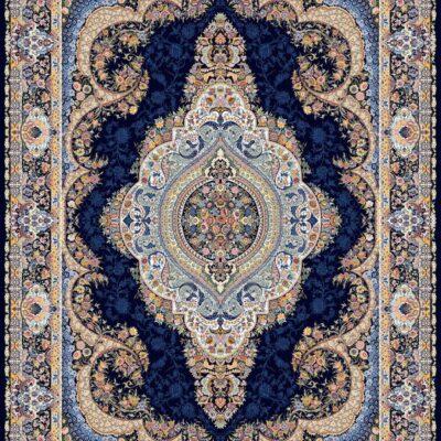 السا سرمه ای/دنیای فرش/فرش ایرانی/فرش ماشینی/donyayfarsh