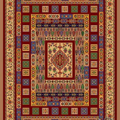 باغستان-شکلاتی/دنیای فرش/فرش ایرانی/فرش ماشینی/donyayfarsh