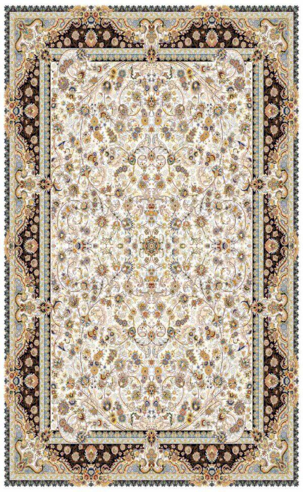بهار افشان کرم/دنیای فرش/فرش ایرانی/فرش ماشینی/donyayfarsh