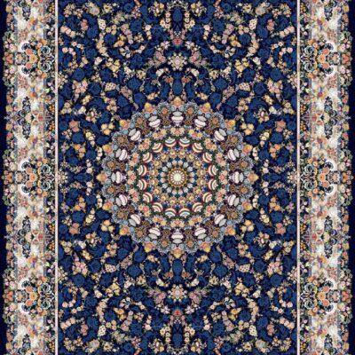 بهشت سرمه ای/دنیای فرش/فرش ایرانی/فرش ماشینی/donyayfarsh