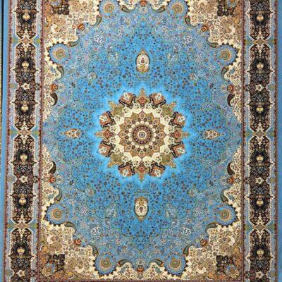 خاتون آبی/دنیای فرش/فرش ایرانی/فرش ماشینی/donyayfarsh