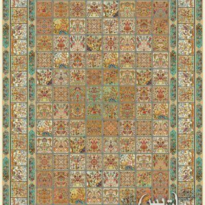 خشتی کرم/دنیای فرش/فرش ایرانی/فرش ماشینی/donyayfarsh