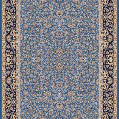 درنا آبی/دنیای فرش/فرش ایرانی/فرش ماشینی/donyayfarsh