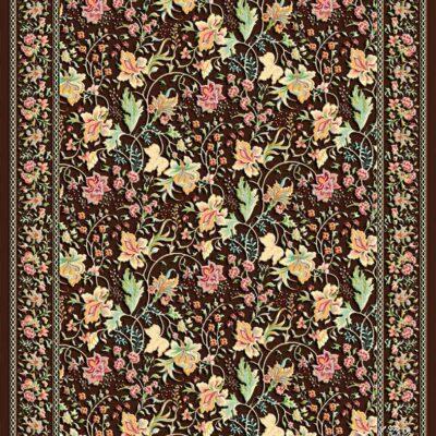 زنبق/دنیای فرش/فرش ایرانی/فرش ماشینی/donyayfarsh