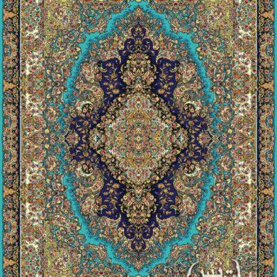 سارینا فیروزه ای/دنیای فرش/فرش ایرانی/فرش ماشینی/donyayfarsh