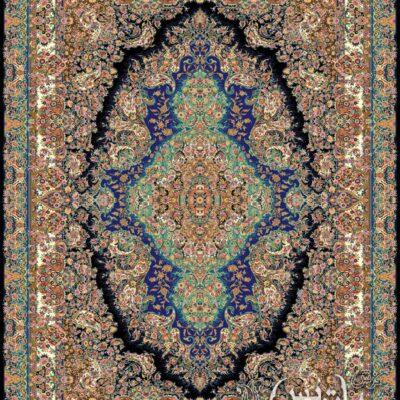 سارینا مشکی/دنیای فرش/فرش ایرانی/فرش ماشینی/donyayfarsh
