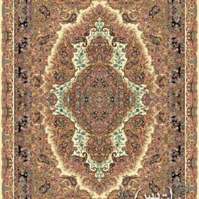 سارینا کرم/دنیای فرش/فرش ایرانی/فرش ماشینی/donyayfarsh