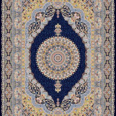 ساز سرمه ای/دنیای فرش/فرش ایرانی/فرش ماشینی/donyayfarsh