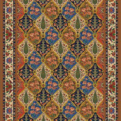 سروستان-شکلاتی/دنیای فرش/فرش ایرانی/فرش ماشینی/donyayfarsh