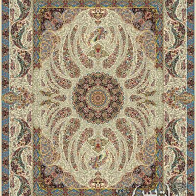 سیمرغ کرم/دنیای فرش/فرش ایرانی/فرش ماشینی/donyayfarsh