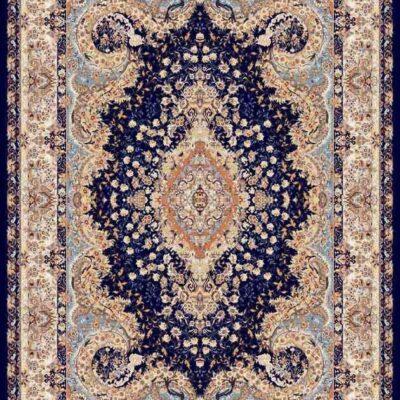شاپرک سرمه ای/دنیای فرش/فرش ایرانی/فرش ماشینی/donyayfarsh