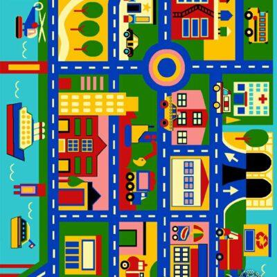 شهر آبی 1/دنیای فرش/فرش ایرانی/فرش ماشینی/donyayfarsh
