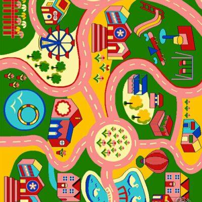 شهر رویایی/دنیای فرش/فرش ایرانی/فرش ماشینی/donyayfarsh