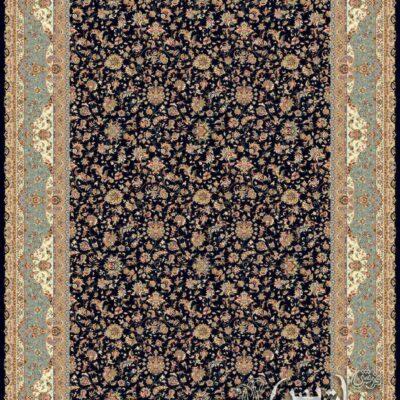پالیز سرمه ای/دنیای فرش/فرش ایرانی/فرش ماشینی/donyayfarsh