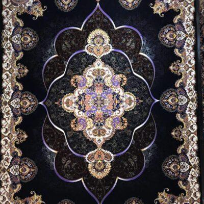 پانیذ سرمه ای/دنیای فرش/فرش ایرانی/فرش ماشینی/donyayfarsh
