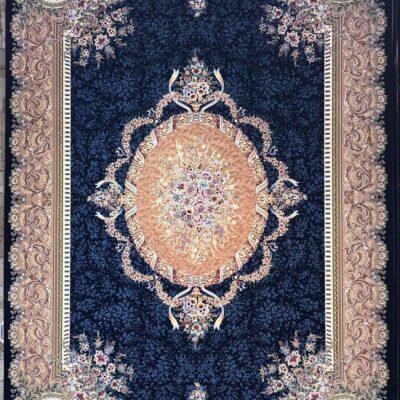 کد 100-پرکلاغی/دنیای فرش/فرش ایرانی/فرش ماشینی/donyayfarsh