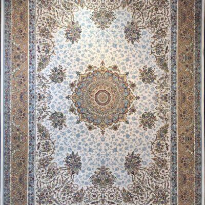 کد 109-کرم/دنیای فرش/فرش ایرانی/فرش ماشینی/donyayfarsh