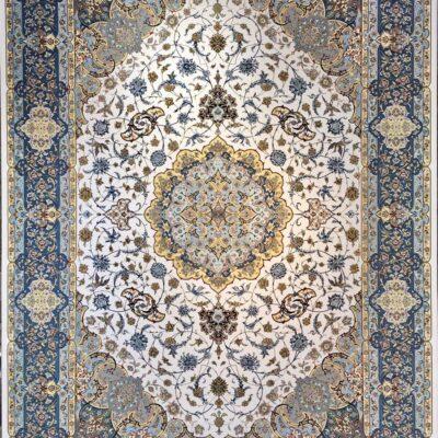 کد 110-کرم/دنیای فرش/فرش ایرانی/فرش ماشینی/donyayfarsh