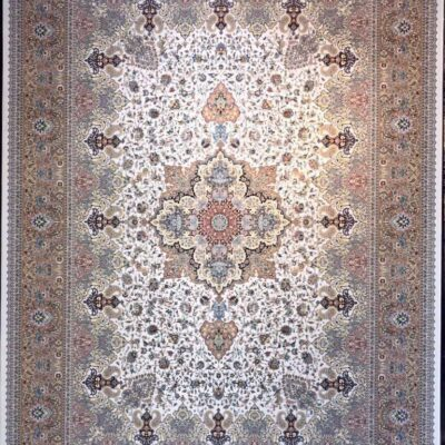 کد 53-کرم/دنیای فرش/فرش ایرانی/فرش ماشینی/donyayfarsh