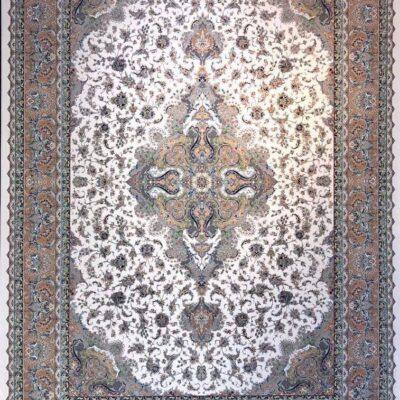 کد 56-کرم/دنیای فرش/فرش ایرانی/فرش ماشینی/donyayfarsh