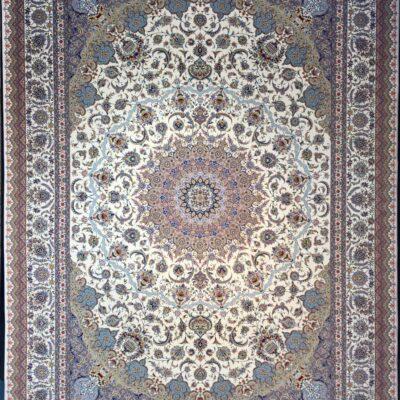 کد 7044-کرم/دنیای فرش/فرش ایرانی/فرش ماشینی/donyayfarsh