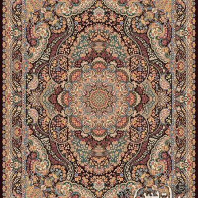 گلشید بادمجانی/دنیای فرش/فرش ایرانی/فرش ماشینی/donyayfarsh
