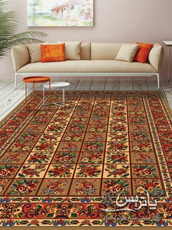 گلفرنگ 1/دنیای فرش/فرش ایرانی/فرش ماشینی/donyayfarsh