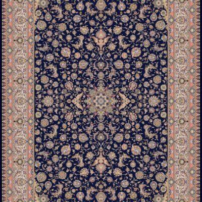 1350 سرمه ای/دنیای فرش/فرش ایرانی/فرش ماشینی/donyayfarsh