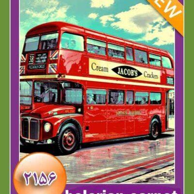 red bus/دنیای فرش/فرش ایرانی/فرش ماشینی/donyayfarsh