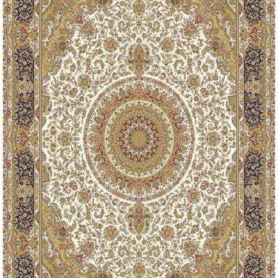 1002 کرم/دنیای فرش/فرش ماشینی/فرش ایرانی/فرش/فرش کمرد