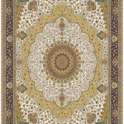 1003 کرم/دنیای فرش/فرش ماشینی/فرش ایرانی/فرش/فرش کمرد