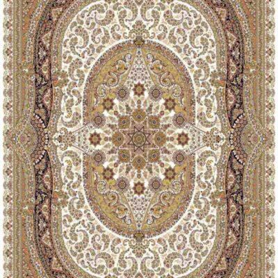 1004 کرم/دنیای فرش/فرش ماشینی/فرش ایرانی/فرش/فرش کمرد