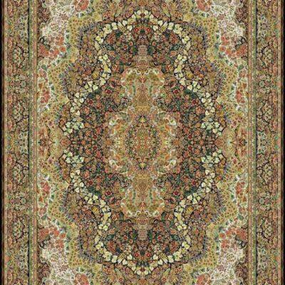 1006 سرمه ای/دنیای فرش/فرش ماشینی/فرش ایرانی/فرش/فرش کمرد