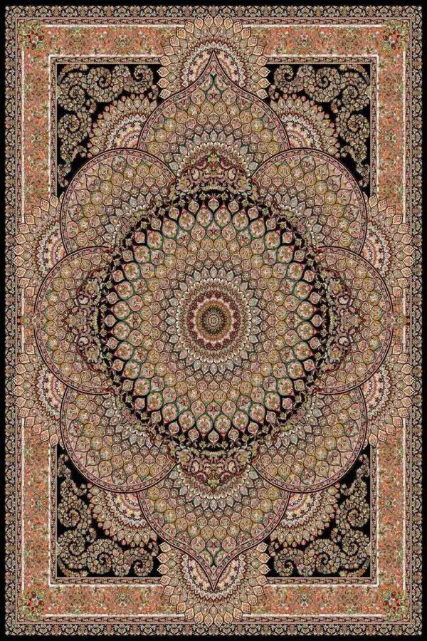 1007 سرمه ای/دنیای فرش/فرش ماشینی/فرش ایرانی/فرش/فرش کمرد