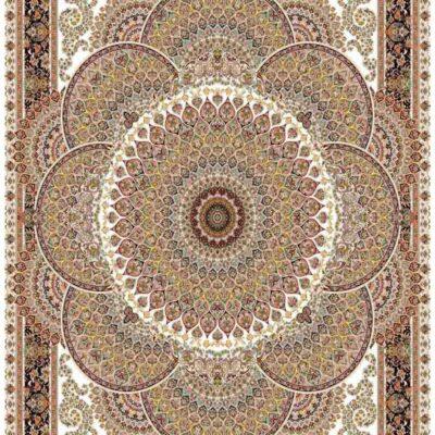 1007 کرم/دنیای فرش/فرش ماشینی/فرش ایرانی/فرش/فرش کمرد