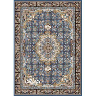 خرید فرش ماشینی برلیان طرح نیلو کاربنی( خرید اینترنتی فرش)- خرید اقساطی فرش