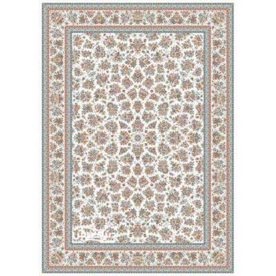 خرید فرش برلیان طرح گلپونه کرم( خرید اینترنتی فرش)- خرید اقساطی فرش