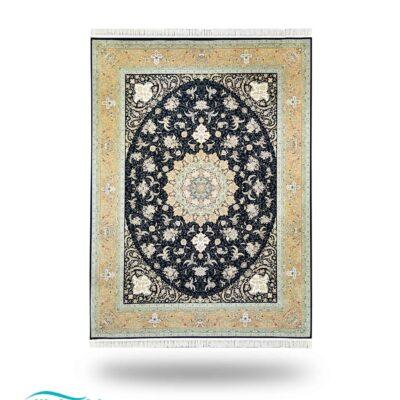 فرش ماشینی/ دنیای فرش/ خرید اینترنتی فرش ماشینی/همگام نت/فرش ایرانی/ خرید فرش/ فرش ماشینی پرکلاغی دنیای فرش/پرکلاغی
