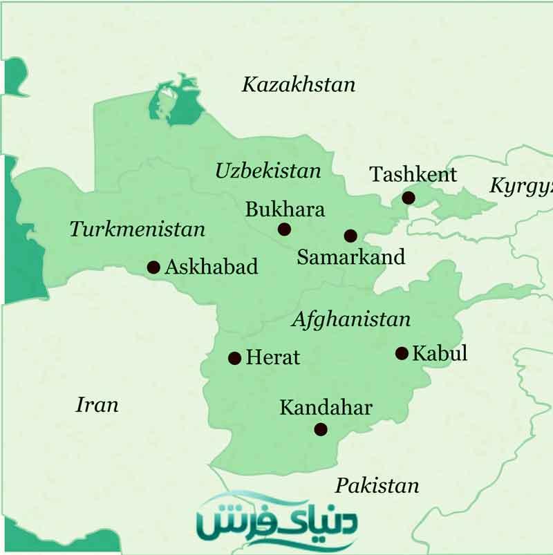 فرش ترکمنستان