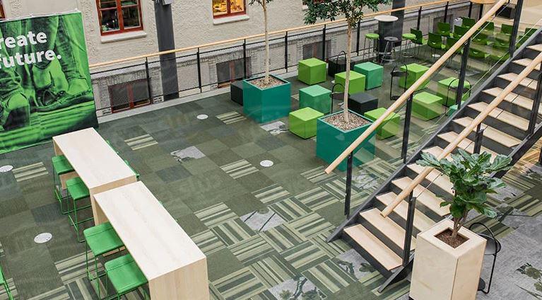 انتخاب بهترین فرش برای دفتر کار